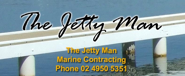 Jetty Man Lake Macquarie Newcastle Logo